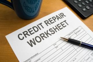 credit repair worksheet
